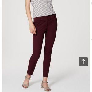 Loft julie skinny ankle pants